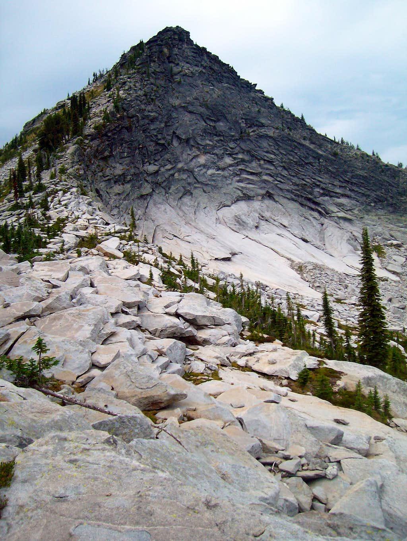 Unnamed Peak 7175 above Harrison Lake