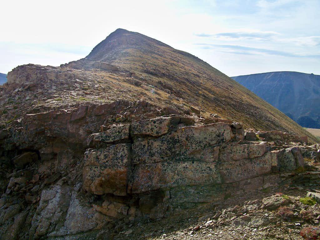 West Ridge of London Mountain