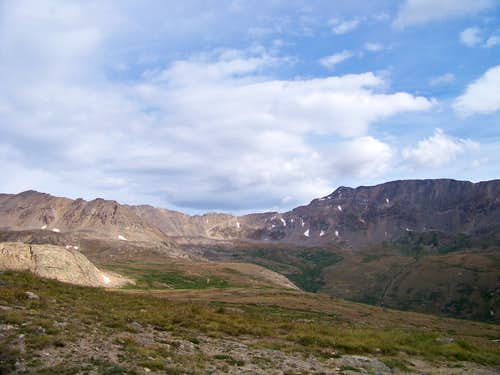 Early autumn, upper Mosquito Creek Basin