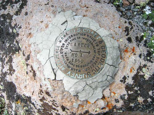 Carter Mountain benchmark