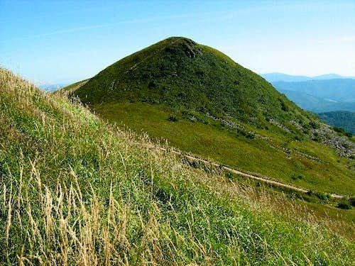 Western slope of Mount Tarnica