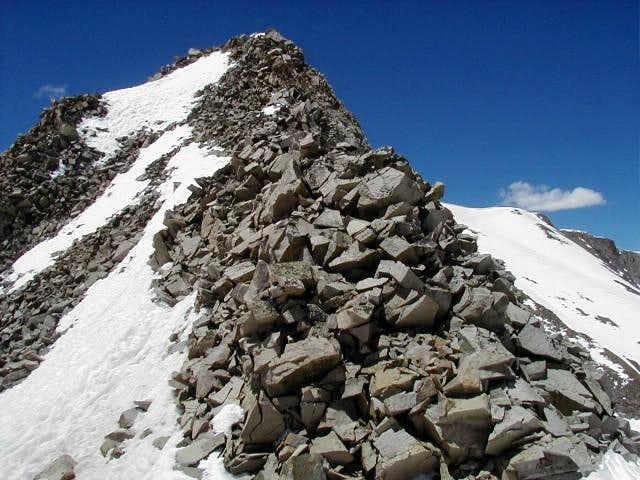 Fun section of ridge