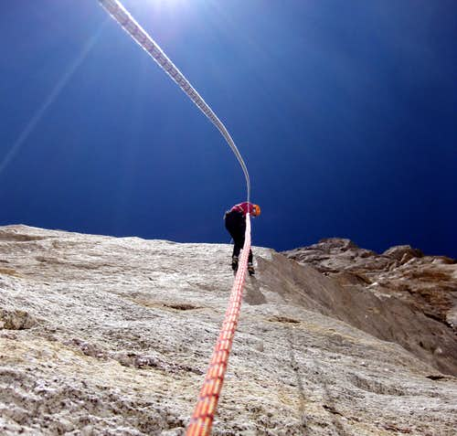 Beautiful rappel...