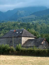Mountain architecture in Vielle Aure