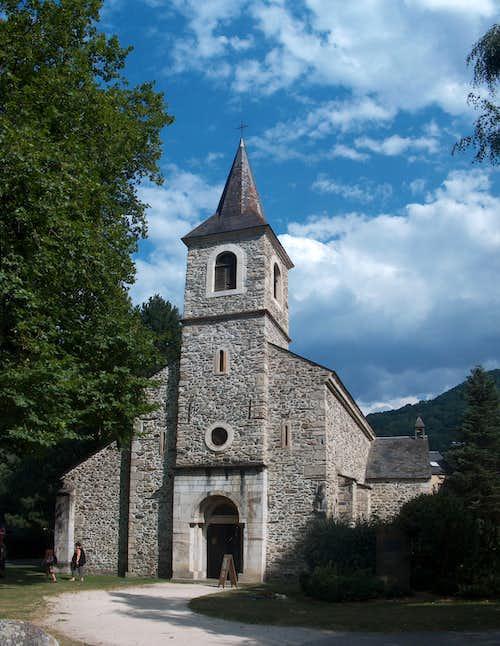 The Saint Lary church