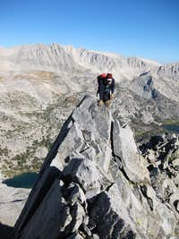Edge on Rosy N Ridge