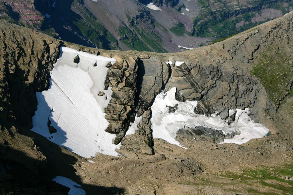 A Dying Glacier