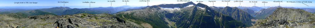 Jutland Mountain Summit Panorama