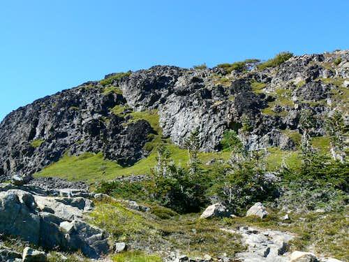 Jutland Mountain Upper SE Ridge