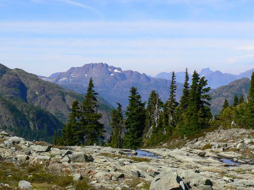 Mt McBride and Elkhorn