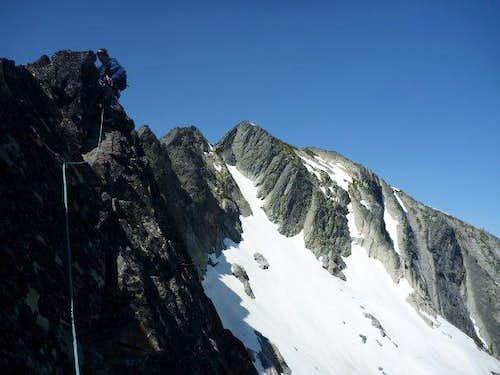 Simul Climbing S. Ridge