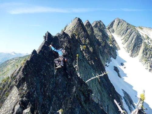 South Ridge - Elephant Peak