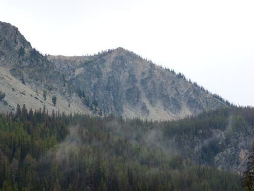 From near Josephus Lake