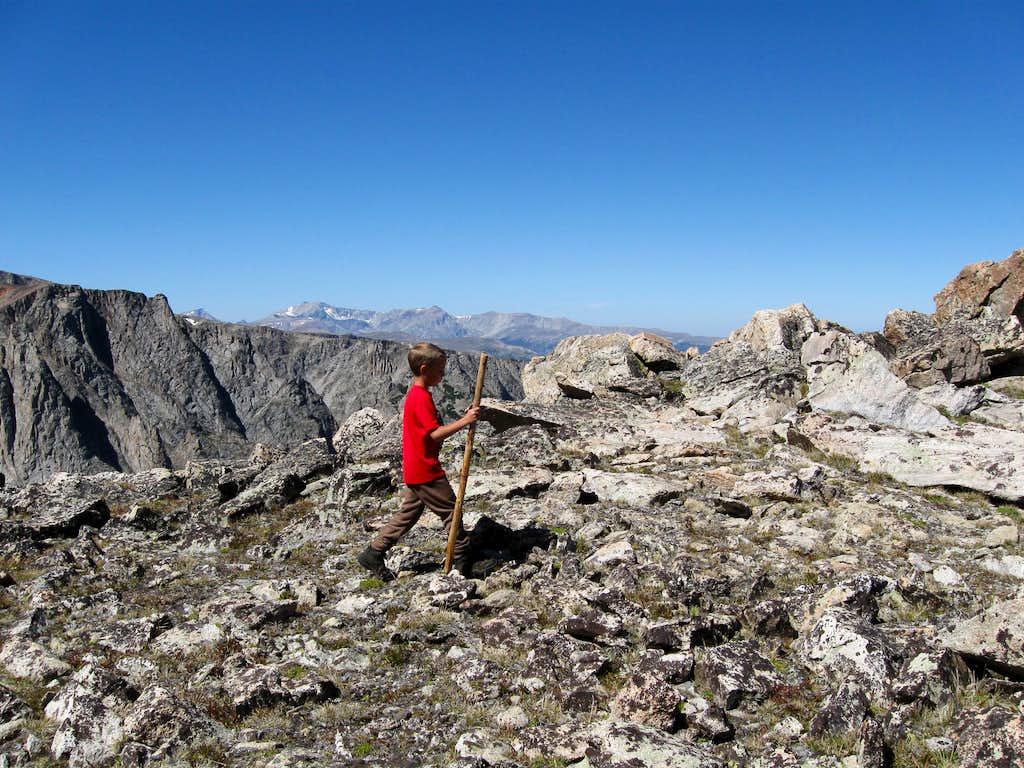 Climbing Grass Mountain