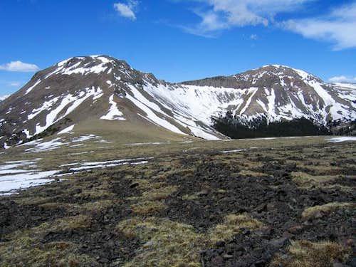East and West Buffalo Peaks...