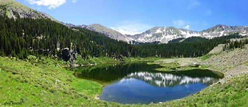 Williams Lake Panorama
