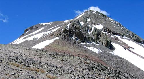 East Buffalo Peak's northeast...