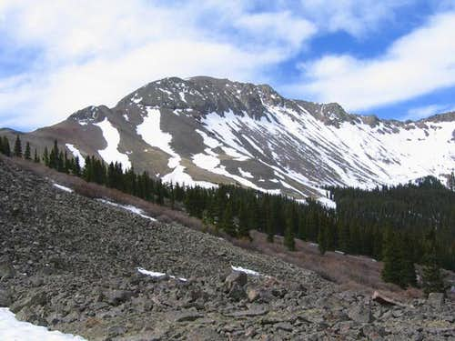 East Buffalo Peak viewed from...