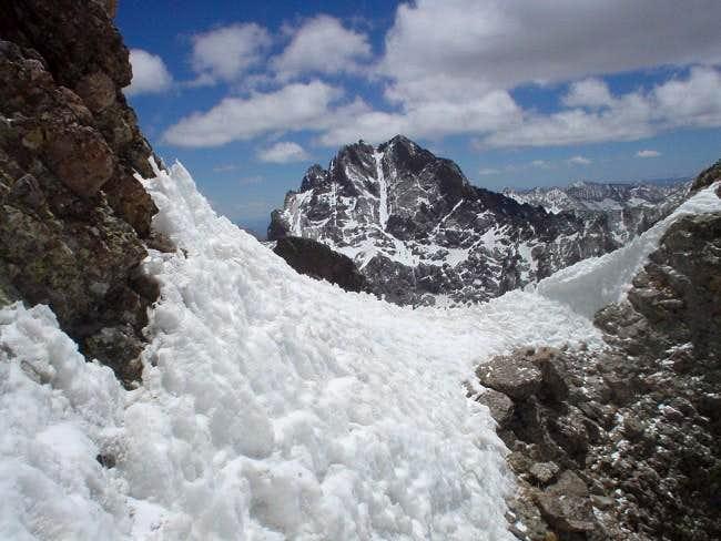 Crestone Peak seen from Kit...
