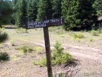 Trailhead area