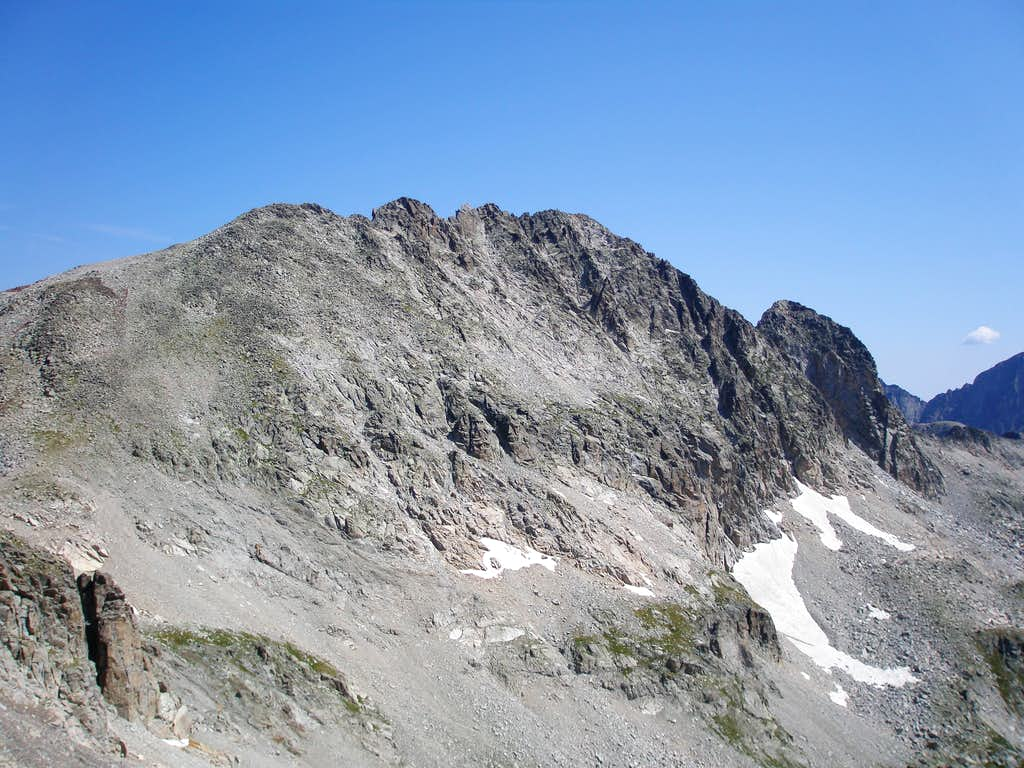 Gourgs Blancs south face