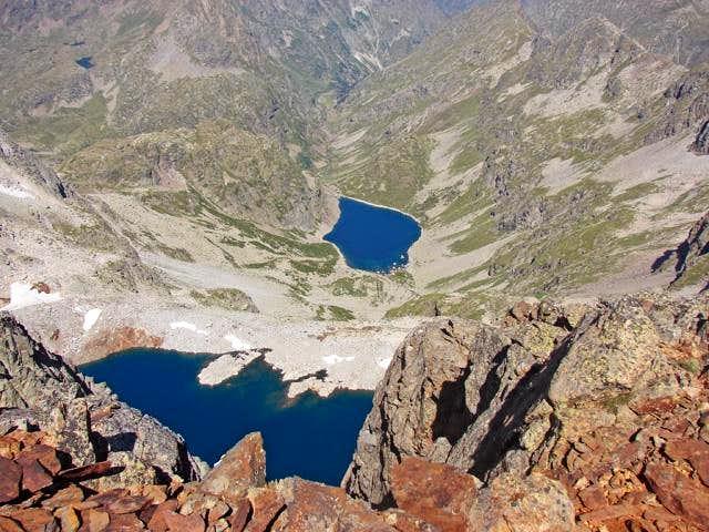 Lacs Clarabide and Pourchergues