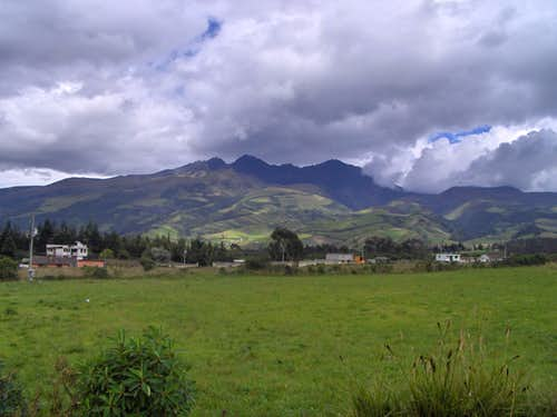 A view of the Rumiñahui