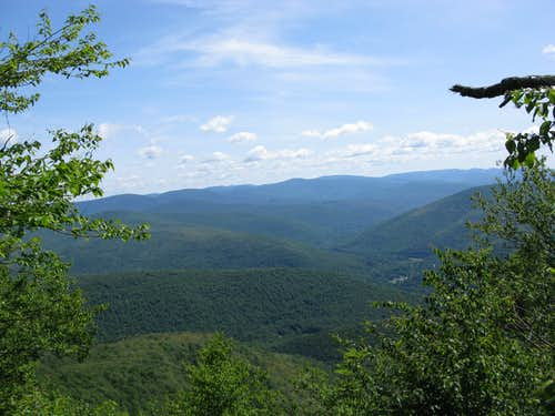 Viewpoint on Balsam Mountain