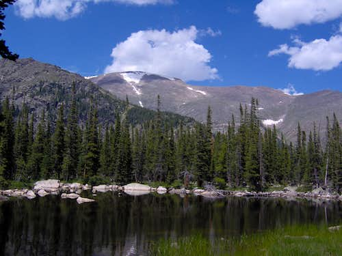 Mount Fairchild from Chipmunk Lake