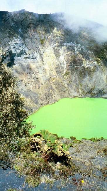 Irazu Crater.