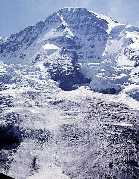 North Face of the Mönch. The...