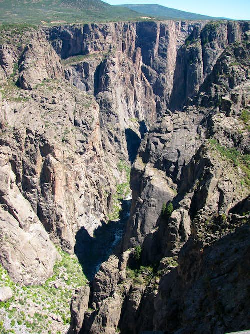 Black Canyon from Chasm View