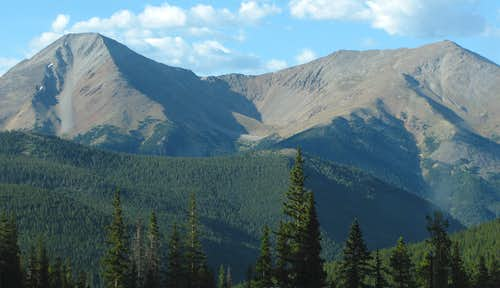 Mount Aetna and Mount Taylor