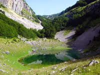 small Stabna lake