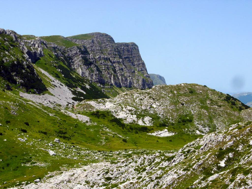 cliffs of lebršnik