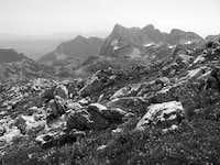 Bioč from Maglič mountains