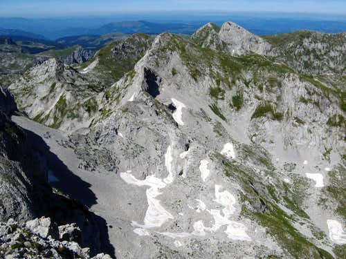 view from Veli vitao to Bioč