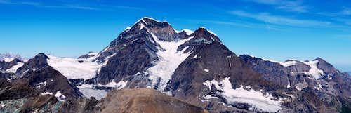 Grand Combin Panoramic view