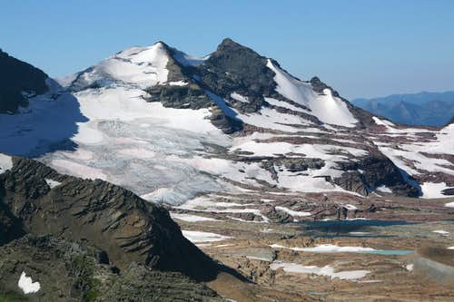 Gunsight Mountain and Sperry Glacier