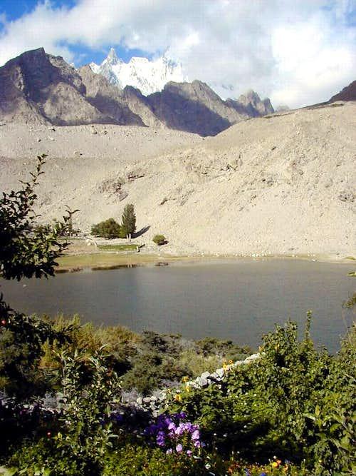 Borit Lake, Hunza, Pakistan