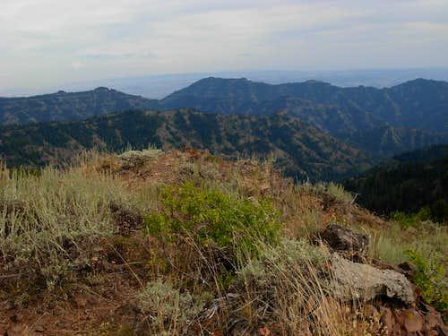 Diamond Peak Summit