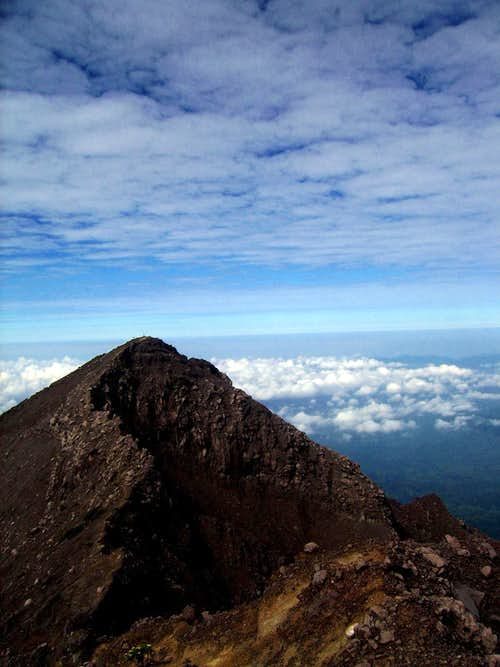 Peak of Kalibaru Route
