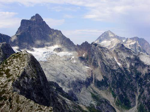Mounts Triumph & Despair from Trappers Peak
