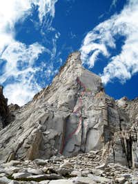 Mt. Dana 3rd Pillar