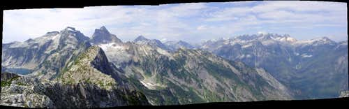 View from Trappers Peak