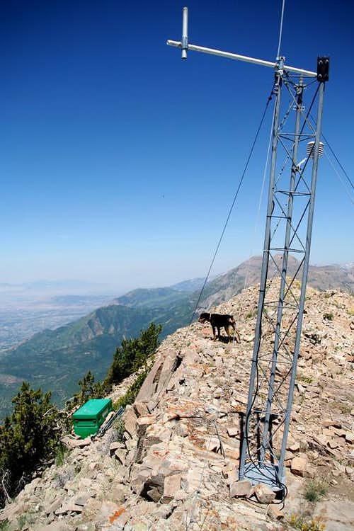Weather Station on Cascade\'s Northern most summit