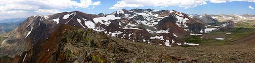 Koip Peak Pass from Mt. Lewis