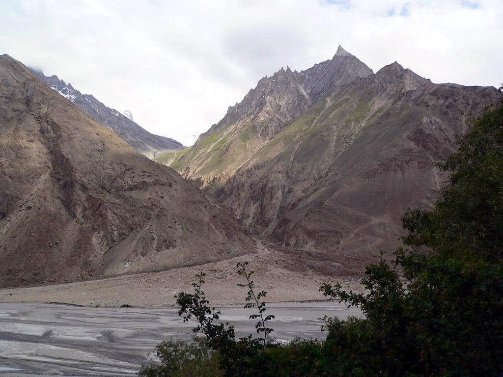 Towards Baltoro Glacier