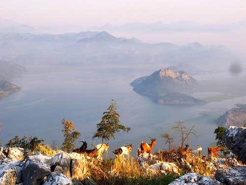 on the hill Sv.Nikola near Vranjina