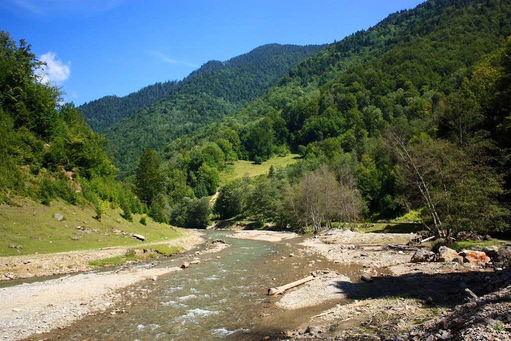 In Vaser valley